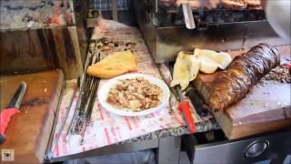 Турецкая кухня! Уличная еда Стамбула. Очень интересное видео