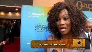 Taraji P. Henson, Yolanda Adams, Praise God At BET
