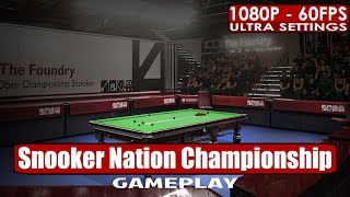 Snooker Nation Championship gameplay PC HD [1080p/60fps]