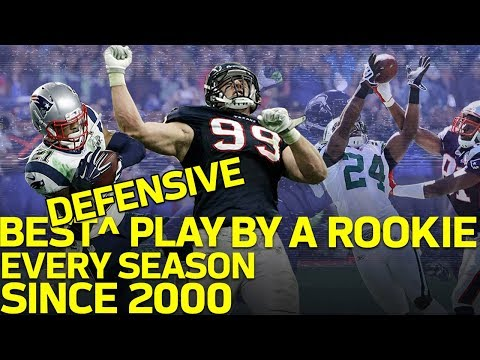 The Best Defensive Play by a Rookie from Every Season Since 2000 | NFL Highlights