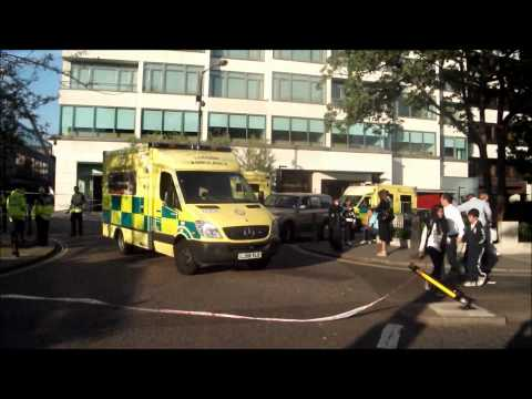 Eight Pump Fire A26 Knightsbridge Ground Hilton Hotel - Camera Footage
