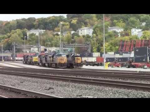 Yard action at Worcester Mass. Saturday October 18, 2014