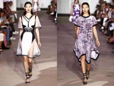 Liu wen fashion video