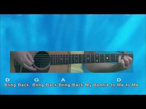 Guitar Lesson Two My Bonnie Lies over the Ocean - YouTube