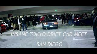 Craziest Tokyo Drift Car Meet Ever San Diego
