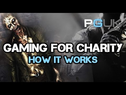 Gaming For Charity - What We Do And How It Works - PGUK