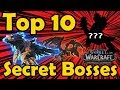 Top 10 Super Secret Bosses in WoW