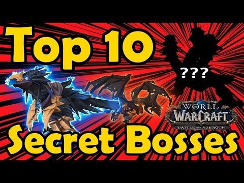 Top 10 Super Secret Bosses in WoW