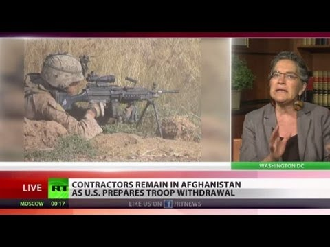 Outsourced: 'Mercs to replace US troops ahead of Afghan withdrawal'