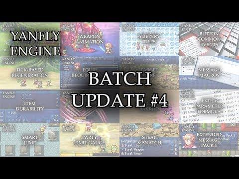 Yanfly Engine Plugins - Batch Update #4 - RPG Maker MV ...