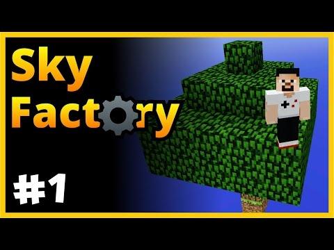 1 Toprak 1 Ağaç - Sky Factory - SkyBlock - Minecraft Türkçe - Bölüm 1