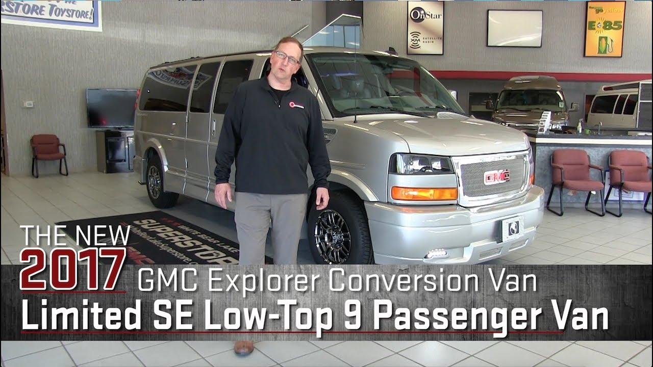 New 2017 GMC Explorer Conversion Van Limited SE Low Top