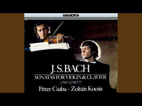 Sonata No. 2 in A major BWV 1015: IV. Presto