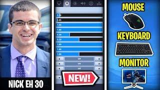 *NEW* Nick Eh 30 Fortnite Settings & Keybinds (UPDATED KEYBINDS)
