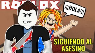 FOLLOW THE ASESIN0 CHALLENGE -VERY DIFFERENTMD dans LE MURDER MYSTERY de ROBLOX 😱