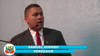 Samuel Isidoro Pronunciamento 10 08 18