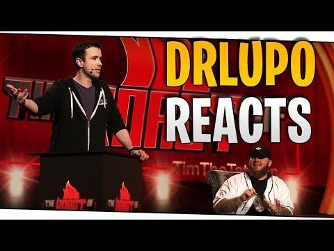 IRL - DrLupo Reacts to the TwitchCon TimTheTatMan Roast!   DrLupo