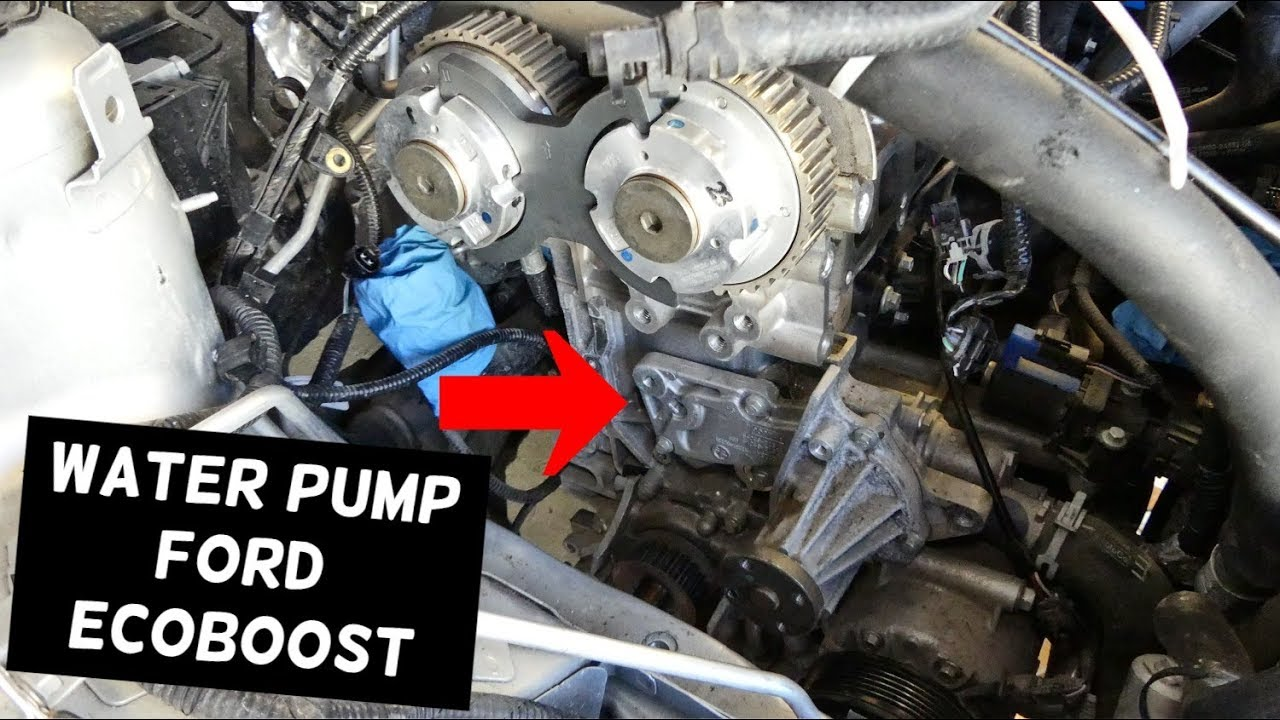 Water Pump Replacement Ford Mondeo Galaxy S Max C Max