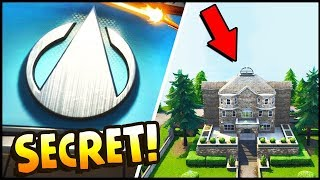 *NEW* TOP SECRET Avengers Super Hero Base & SECRET Super Villain Base w/ ROCKET! - Fortnite Season 4