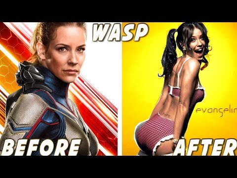 AntMan and the Wasp ★ Before And After