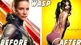 Ant-Man and the Wasp ★ Before And After Thumb