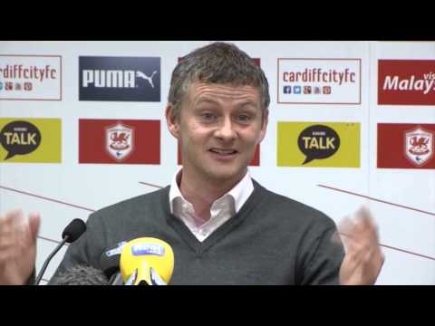 "Ole Gunnar Solskjaer: ""Möchte kein sicheres Leben!"" | Tottenham Hotspur - Cardiff City"