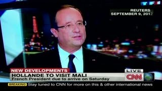 French President Hollande to visit Mali this weekend