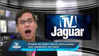 Projeto de Heitor Ferrér tenta acabar com nepotismo no Ceará.