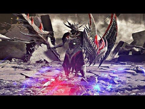 Code Vein - Queen's Knight Boss Fight Walkthrough [1080p HD]