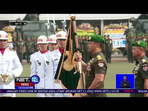 Jenderal TNI Andika Perkasa Resmi Jabat KASAD - NET 12