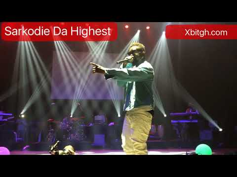 Sarkodie Performs at Sarkodie Da Highest Concert in New York