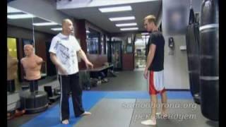 MMA. Уроки Bas Rutten. часть 1