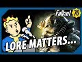 FALLOUT 76 - Does LORE BREAKING Actually MATTER or NOT?