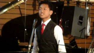 Ketho Liegise 14yrs  and Nise Meruno- O sole mio.MPG