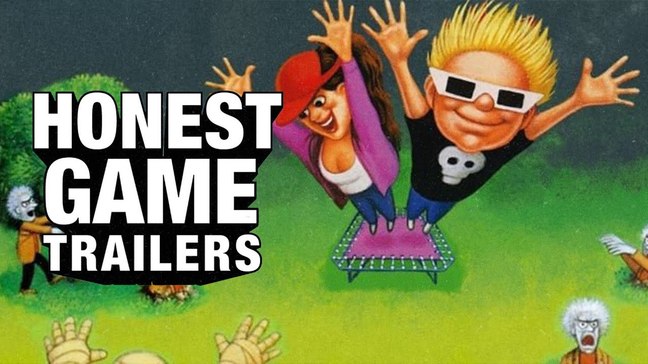 Honest Game Trailers   Zombies Ate My Neighbors and Ghoul Patrol