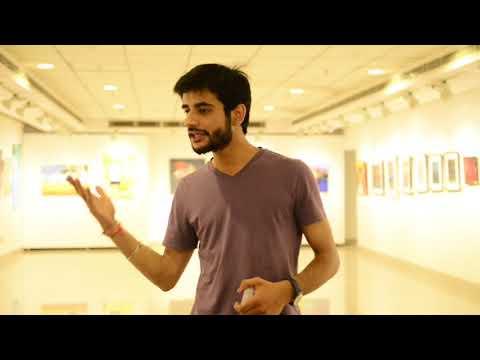 Talk by Gagandeep Singh Vaid on Social Media and Artists