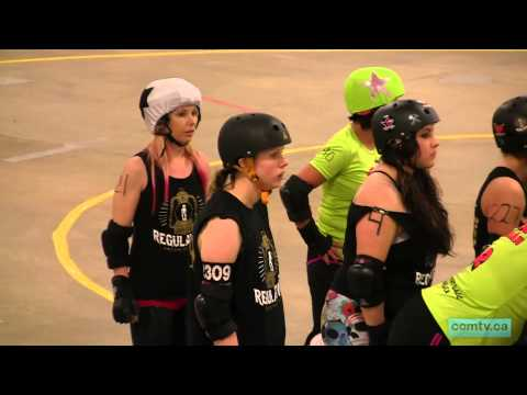 comtv.ca - SPORTS: Jamrock Shake - Gas City Regulators vs. Rocky View Rollers (part 1/2)