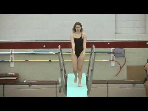 LHS Varsity Diving vs Notre Dame and Lawrenceville 011718