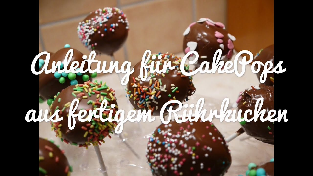 anleitung f r cake pops ohne backen torten backen dekorieren youtube. Black Bedroom Furniture Sets. Home Design Ideas