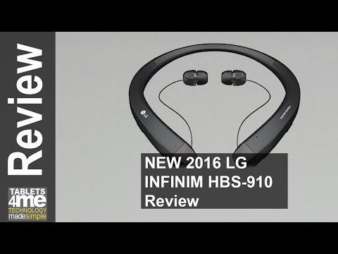 NEW 2016 LG HBS-910 Tone Infinim Bluetooth Stereo Headset