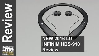 nEW 2016 LG HBS-910 Tone Infinim Bluetooth Stereo Headset