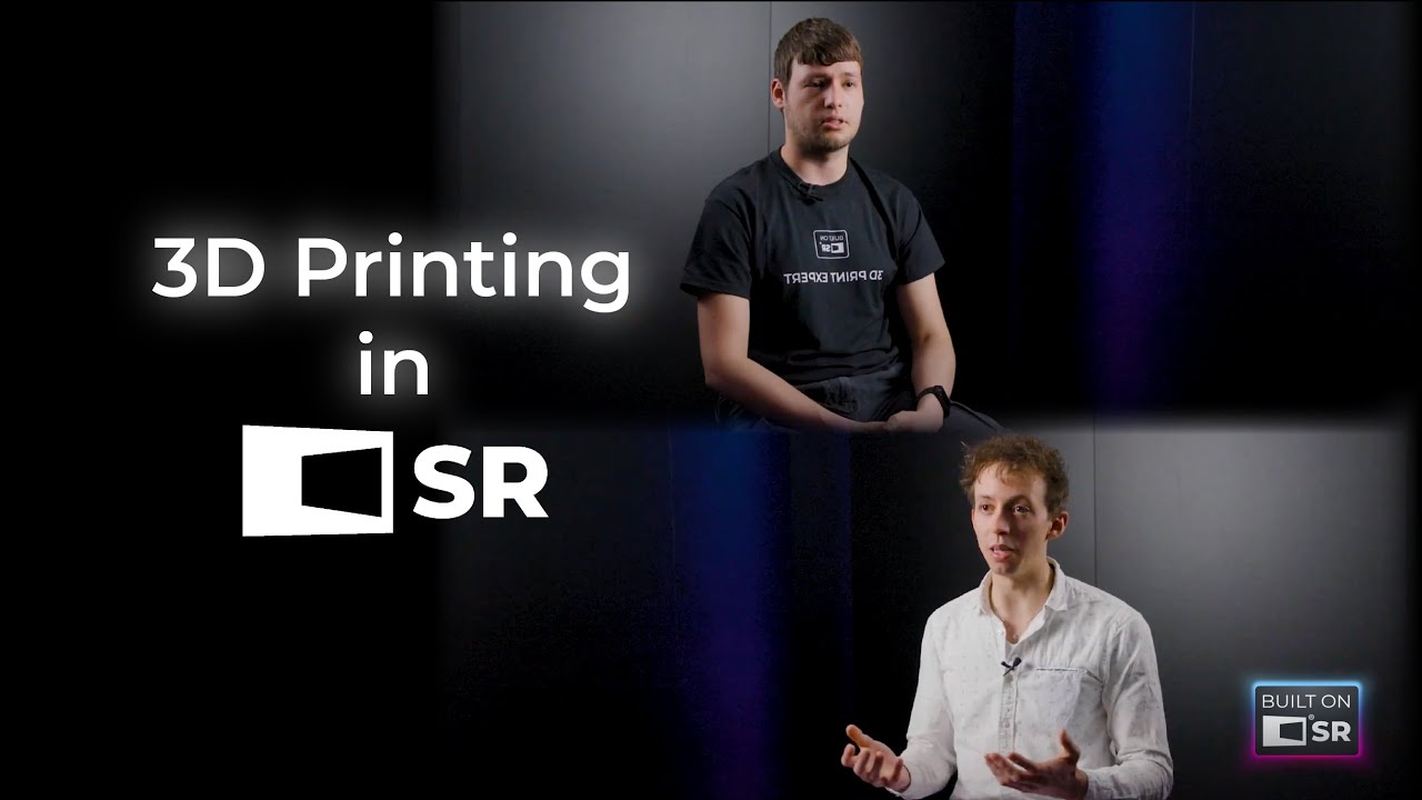 3D Printing Meets Simulated Reality