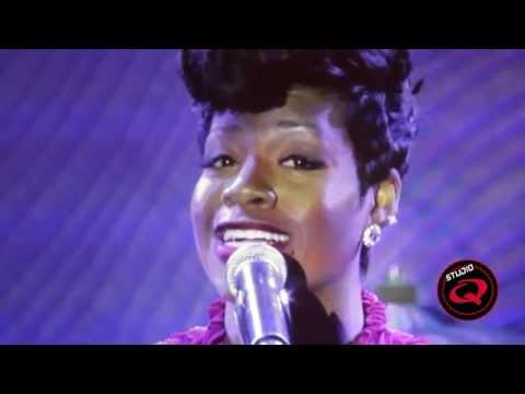 Fantasia Sings Stormy Weather at C Davis 2014 PreGrammy Party  Studio Q TV
