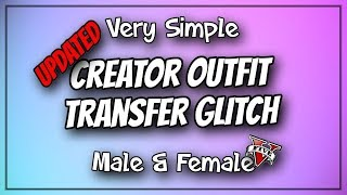 GTA5 I *UPDATED* Creator Outfit Transfer Glitch! (Male & Female) Patch 1.44! (Transfer Components)