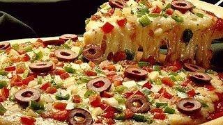 Пицца рецепт простой приготовления  Тесто для пиццы.Как приготовить пиццу.Ингредиенты для пиццы(Пицца рецепт простой приготовления Тесто для пиццы .Как приготовить пиццу в домашних условиях ----------------------..., 2013-10-16T14:56:44.000Z)