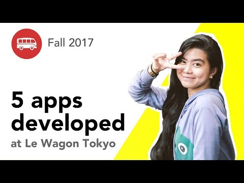 5 apps developed at Le Wagon Tokyo - Batch #94