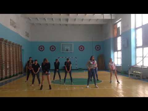 Группа поддержки. Танец под песню DLBM Miyagi & Эндшпиль