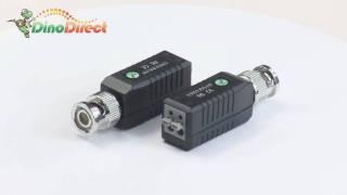 single channel UTP passive video balun for surveillance camera,203A