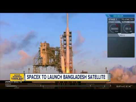 SpaceX to launch Bangladesh satellite