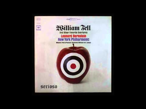 Suppe, Poet And Peasant Overture and Rossini, William Tell , Bernstein